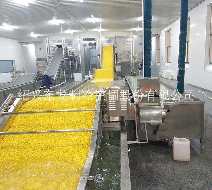 玉米粒速冻生产线